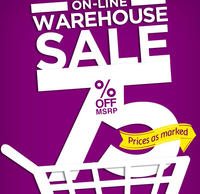 75% OFFWarehouse Sale @ Hartstrings