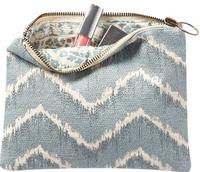 Pottery Barn Embroidered Pouch