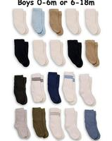 20 Pairs! - Faded Glory Infant/Toddler Boys Crew Socks