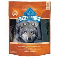 2 Bags of BLUE Wilderness™ Large Breed Grain Free Adult Dog Food