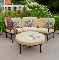 $349 Better Homes Gardens Paxton Place Curved Sectional Set