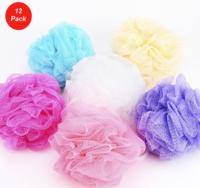 $6.9912 Pack: Mesh Shower Body Wash and Bath Pouf Sponges