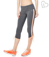 $7Ruched Yoga Crop Leggings