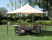 $99 Pavillion Hexagon Roof Style Gazebo with Top Finial