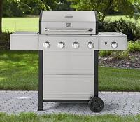 $189.99 Kenmore 4 Burner Gas Grill With Stainless Steel Lid (Model # PG-40401SOL)
