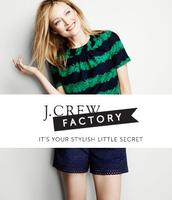 40% Off Men's and Women's Shorts and Swim @ J.Crew Factory