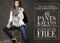Buy One Get One FreeAll Paints, Jeans, & Jumpsuits @New York & Company