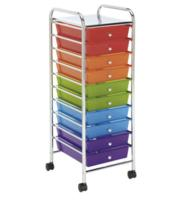 Recollections™ 10 Drawer Rolling Organizer