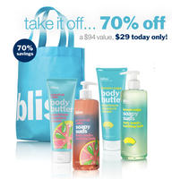$29Bliss Scent-Sational Suds and Butter Set($94 Value)