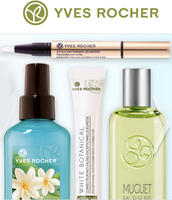 Free Gifts(Clock, Bag, Moistures and More)with Purchase of $10 or More@Yves Rocher