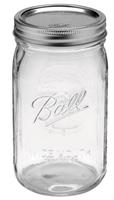 $13.99 + Free Pick UpBall® 32 oz. Wide Mouth Mason Jars (12 Pack)