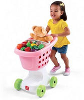 Step2 Little Helper's Shopping Cart+Play-Doh Rainbow Starter Pack by Hasbro
