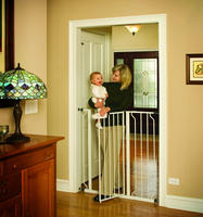 Prime Members only! Regalo Easy Step Extra Tall Walk Thru Gate - White
