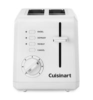 Cuisinart CPT-122 Compact 2-Slice Compact Plastic Toaster