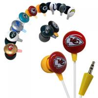 Official Licensed iHip NFL Noise-Isolating Earphones