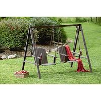 $174.97 Mason Green Weston 2 Person Adirondack Swing