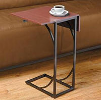 Brylane Home  Flip Top Sofa Table
