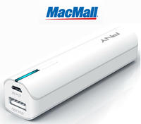 PNY T2200 PowerPack 2200mAh Portable Battery for iPhone & Smartphones in White @ MacMall