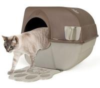 Lightning deal! #1 Best seller! $23.91( reg $42.21) Omega Paw Self-Cleaning Litter Box