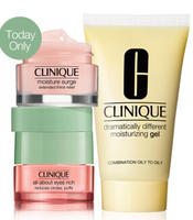 3 Free Moisture Minis + Free Shipping  with Any $35 purchase @ Clinique