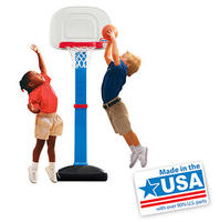 #1 Best Seller! Little Tikes TotSports Easy Score Basketball Set