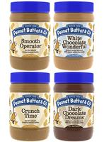 $12.73 Peanut Butter & Co. Top Selling Peanut Butter 4-Pack