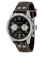 $758 Hamilton Men's Khaki Field Pioneer Auto Chrono Watch H60416533