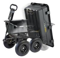 $99 Gorilla Carts GOR866D Heavy-Duty Garden Poly Dump Cart
