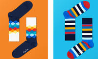 Get 5 pairs of socks for the price of 4+ Free Shipping @ Happy Socks