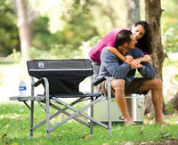 $29.99 Coleman Portable Deck Chair with Table