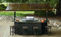 $999.97 Ty Pennington Style Sunset Beach Hardtop Grill Gazebo