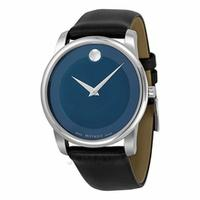 Movado Museum Blue Dial Stainless Steel Men's Watch 0606610