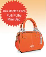 Subscribe to Dealmoon Newsletter,Win the Folli Follie Mini Bag