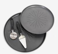 Gibson Home 4-pc. Black Pizza Essentials Kit