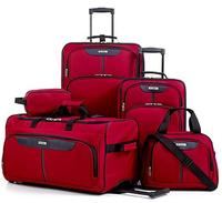 $49.99 Tag Fairfield III 5 Piece Luggage Set (2 Colors Available)