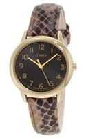 Timex Women's Elevated Classics Gold-Tone Watch T2N965
