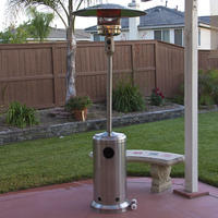 $129.95 Stainless Steel Outdoor Patio Heater Propane LP Gas Commercial Restaurant New