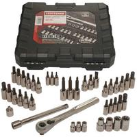 $25.96 Craftsman 42 piece 1/4 and 3/8-inch Drive Bit and Torx Bit Socket Wrench Set