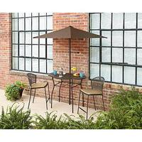 $119.97 Garden Oasis Clinton 4 Piece Patio Balcony Set