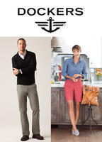 40% Off $250+ or 25% Off $125Sitewide @ Dockers
