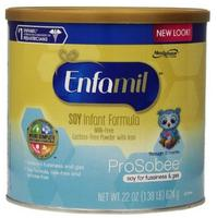 $83.76 Enfamil Prosobee Soy Infant Formula Powder with Iron, 22 Ounce (Pack of 4)