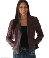 Andrew Marc Brianna Women's Leather Motorcycle Jacket