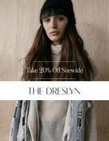 20% Off Full-Price & Sale Items@ The Dreslyn