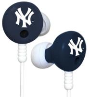 iHip Officially Licensed MLB Team Logo Earbuds