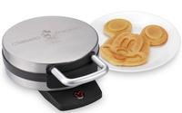 Disney Classic Mickey Waffle Maker, Brushed Stainless Steel