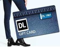 DL1961 Denim and Dealmoon Giveaway,Earn Up to $500 DL 1961 Denim Gift Card!