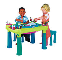 $19.99Keter Multi-Colored Kids Creative Table and Stools (17184184)