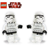 2 Pack LEGO Star Wars Collection Stormtrooper LED Torch Light / Flashlight