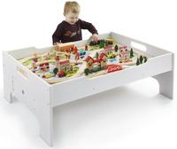 $69.99Deluxe 80-Piece Wooden Train Set and Table