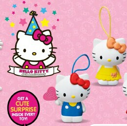 2014 Fall McDonald's Happy Meal Toys  Hello Kitty